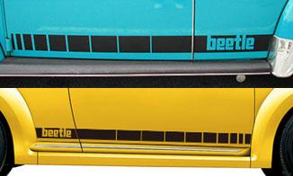 VW ラリーストライプ for ビートル、ニュービートル、ザ・ビートル