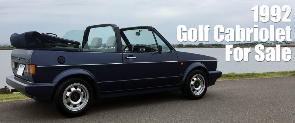 1992 Golf Cabriolet For Sale